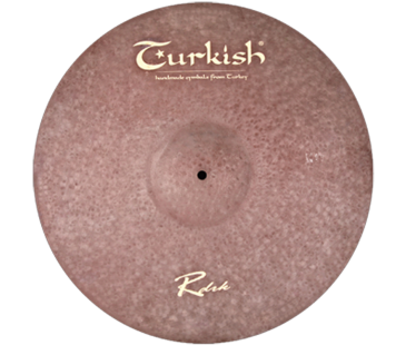 "Turkish Cymbals Rawdark 17"" Crash"