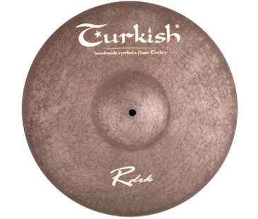 "Turkish Cymbals Rawdark 22"" Ride"