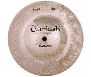 "Turkish Cymbals Rockbeat Raw 10"" Big Bell"