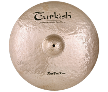 "Turkish Cymbals Rock B.Raw 16"" Crash"