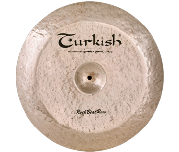 "Turkish Cymbals Rock.B.Raw 21"" China"