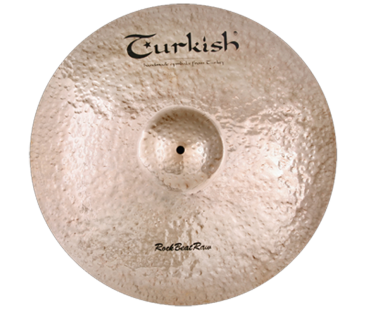 "Turkish Cymbals Rock B.Raw 20"" Ride"