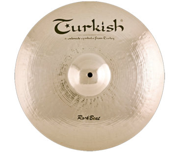 "Turkish Cymbals Rock Beat 15"" Crash"