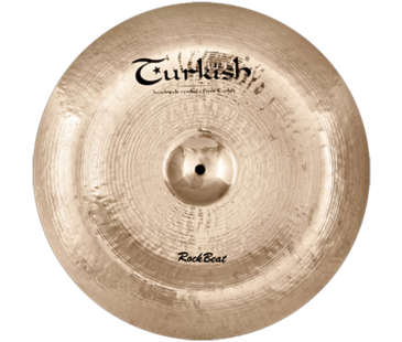 "Turkish Cymbals Rock Beat 19"" China"