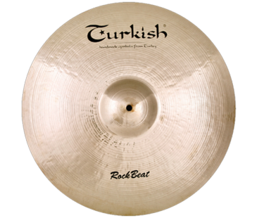 "Turkish Cymbals Rock Beat 22"" Ride Medium"