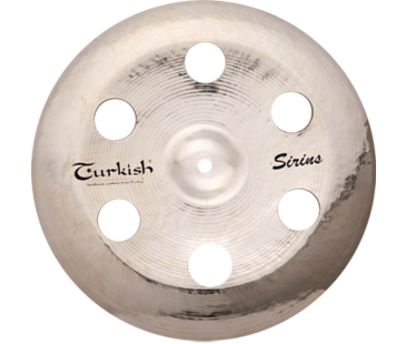 "Turkish Cymbals Sirius 18"" China Holey"