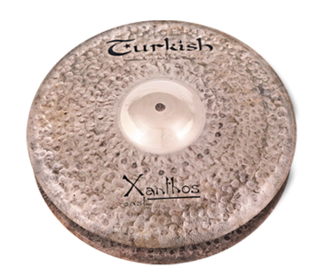 "Turkish Cymbals Xanthos-Cast 14"" Hihat"