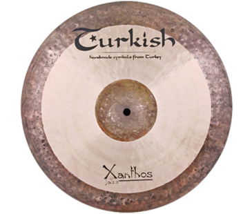 "Turkish Cymbals Xanthos-Jazz 9"" Splash Reverse"