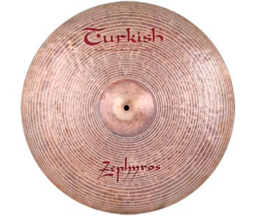 "Turkish Cymbals Zephyros 22"" Ride"