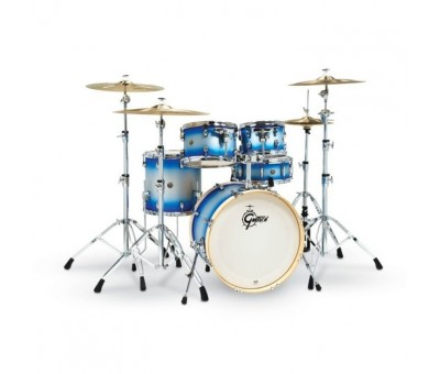 Gretsch Catalina Birch Special Edition 14 x 20 5-Parça Shell Pack Davul Seti (Blue Silver Duco)